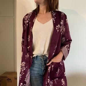 Beautiful Floral blazer by Anthropologie